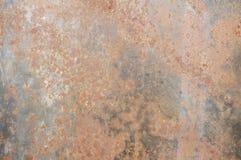 металл предпосылки ржавый Стоковая Фотография