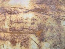 металл предпосылки ржавый Стоковое Изображение