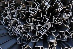Металл профилирует угол Стоковые Изображения