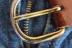 металл пряжки Стоковые Фото