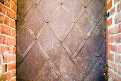 металл рамки ржавый Стоковая Фотография