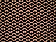металл решетки заржавел Стоковые Фотографии RF