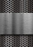 металл решетки над плитой Стоковые Фото