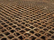 металл решетки Стоковые Изображения RF