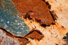 металл ржавый Стоковые Фото