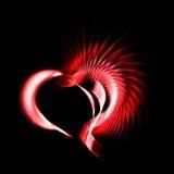 металл сердца Стоковое Изображение RF