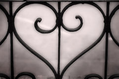 металл сердца Стоковые Изображения RF