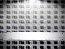металл сетки grunge предпосылки иллюстрация штока