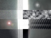 металл слоев Стоковая Фотография RF