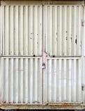 металл строба locked Стоковые Фото