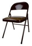 металл стула складывая Стоковые Изображения RF