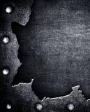 металл треснутый предпосылкой Стоковые Изображения
