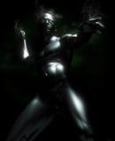 металл человека Стоковое Фото