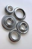 металл шестерен Стоковые Изображения RF