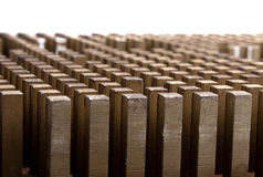 металл штанги предпосылки Стоковое Изображение RF