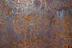 металл 16 предпосылок заржавел Стоковые Фотографии RF