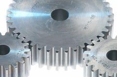 металл cogwheels Стоковая Фотография RF