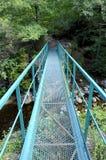 металл footbridge Стоковая Фотография