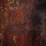 металл grunge диаманта Стоковая Фотография