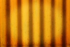 металл grunge обшивает панелями ржавую стену Стоковые Изображения RF