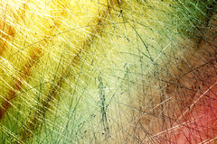 металл grunge предпосылки цветастый Стоковая Фотография RF