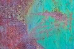 металл ii ржавый Стоковое Изображение