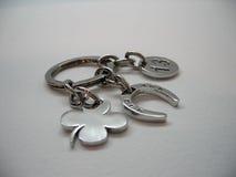 металл keychain Стоковые Изображения RF