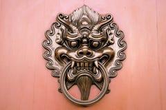 Металл knocker двери Hang Стоковое Изображение