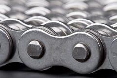 металл lin детали цепей стоковое изображение rf