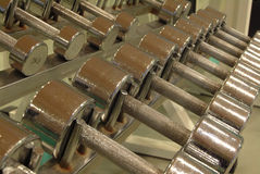 металл shelves весы Стоковые Изображения