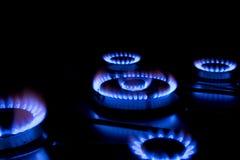 метан газа Стоковая Фотография RF