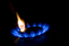 метан газа Стоковые Фото