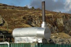 метан горелки Стоковое Фото