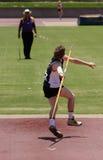 метатель javelin Стоковое фото RF