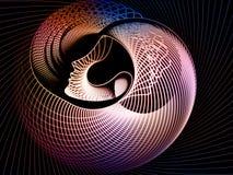 Метафора геометрии души Стоковые Фото