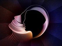 Метафора геометрии души Стоковое фото RF