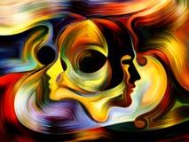 Метафоричная внутренняя краска Стоковое Фото
