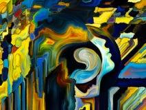 Метафоричная внутренняя краска Стоковые Фотографии RF