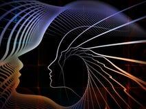 Метафоричная геометрия души Стоковое Изображение RF