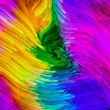 Метафоричная краска цифров Стоковое Изображение RF