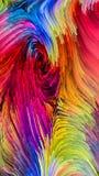 Метафоричная краска цифров стоковое фото
