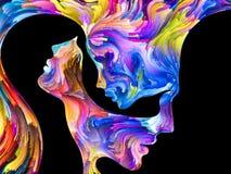 Метафоричная страсть иллюстрация вектора