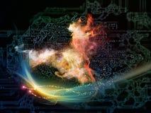 Метафоричная технология Стоковые Изображения