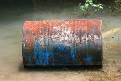 металл бочонка ржавый Стоковое Изображение RF