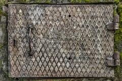 металл двери заржавел стоковые фото