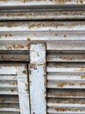 металл двери предпосылки старый Стоковая Фотография