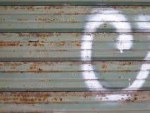металл двери предпосылки старый Стоковое фото RF