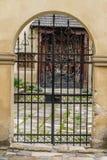 металл двери старый Стоковые Изображения RF