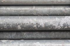 Металл гальванизированный лесами сложил славно в пакете Конец-вверх Абстрактная предпосылка металла Абстрактная предпосылка метал Стоковая Фотография RF