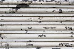 металл загородки ржавый Стоковая Фотография